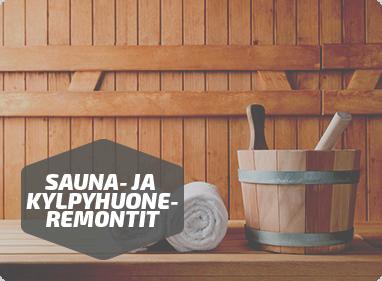 Sauna- ja kylpyhuoneremontit